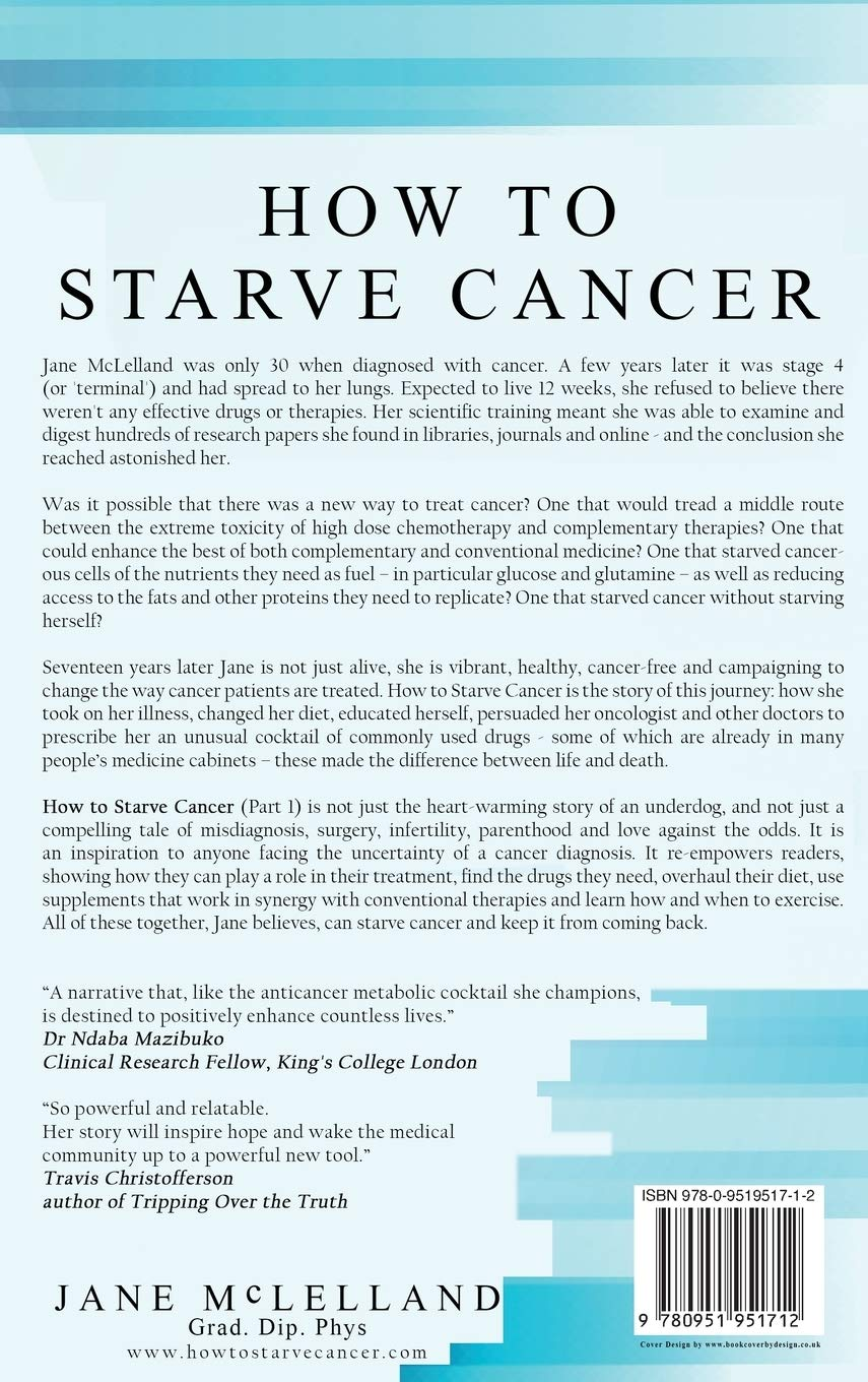 How to Starve Cancer: Jane McLelland: 9780951951712: Amazon