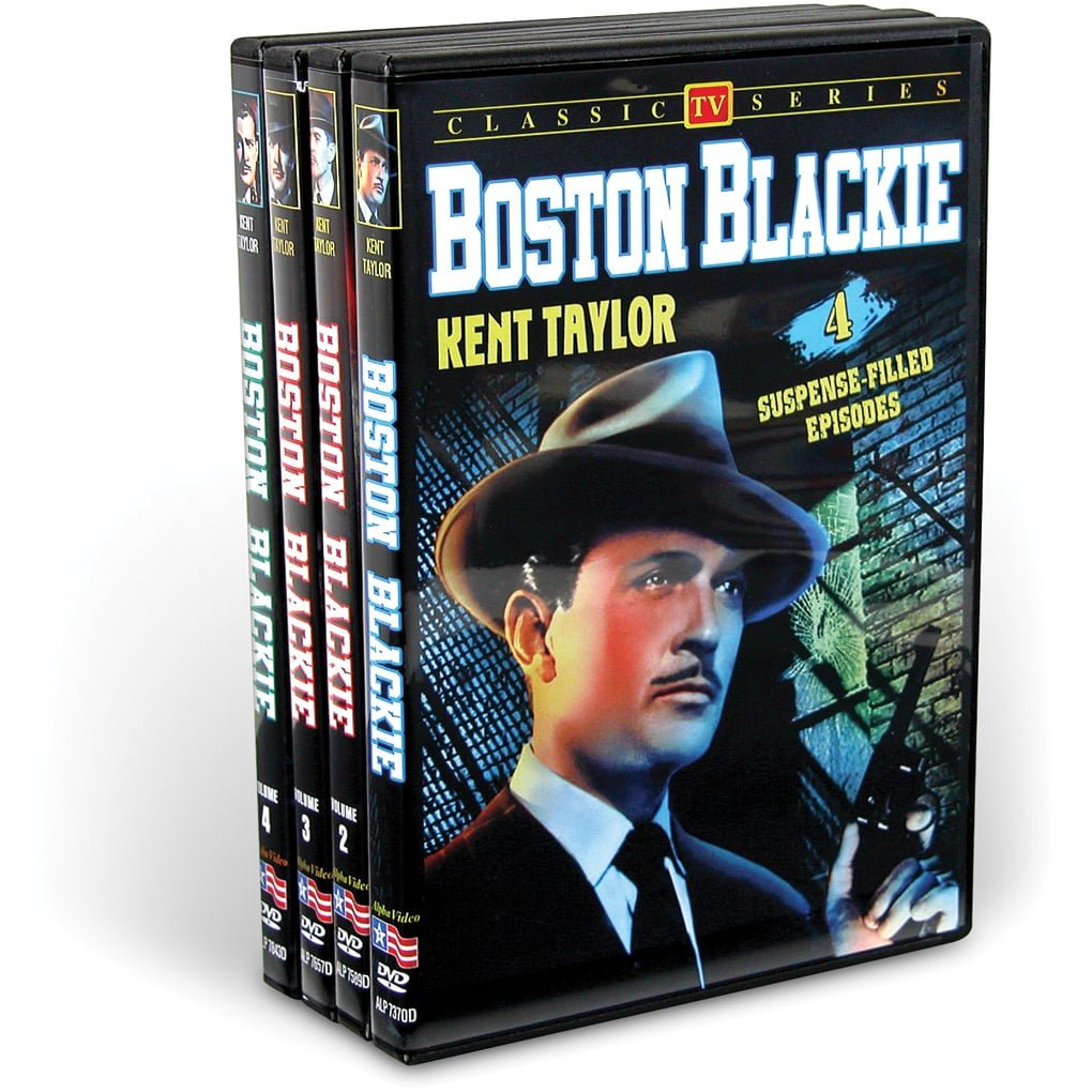 Boston Blackie: The Television Series Collection (4-DVD) by Alpha Video