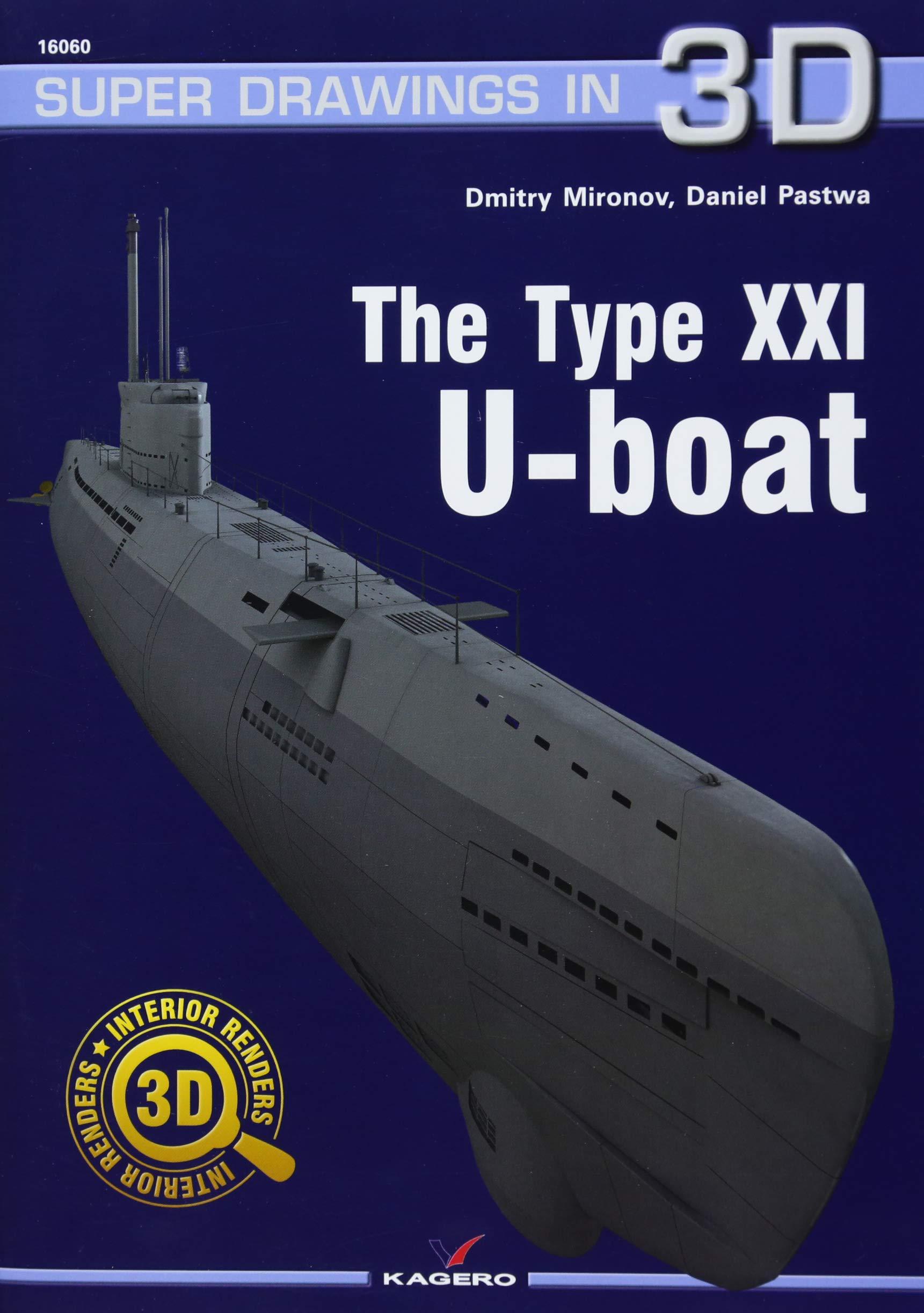 The Type Xxi U Boot Super Drawings In 3d Amazon Dmitry