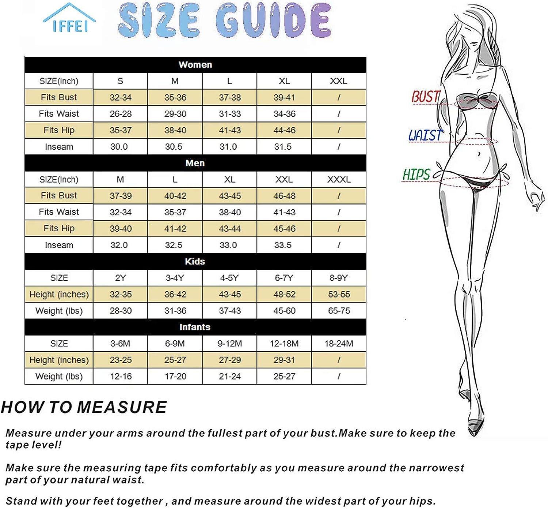 IFFEI Family Matching Swimwear Two Pieces Bikini Set 2020 Newest Printed Ruffles Mommy and Me Bathing Suits