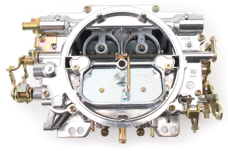 Edelbrock 1405 Performer 600 CFM Square Bore 4-Barrel Air Valve Secondary Manual Choke New Carburetor by Edelbrock (Image #6)