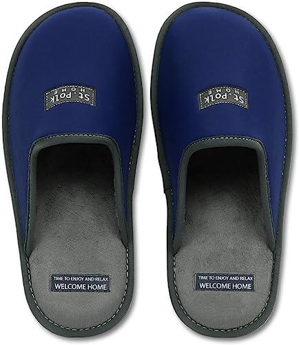 St. Polk Zapatillas de estar por casa Hombre y Mujer slippers para Verano e Invierno Pantuflas Cómodas, Resistentes, Transpirables de interior Suave: Amazon.es: Zapatos y complementos