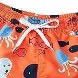 Freshhoodies Toddler Boys Swim Trunks Elastic