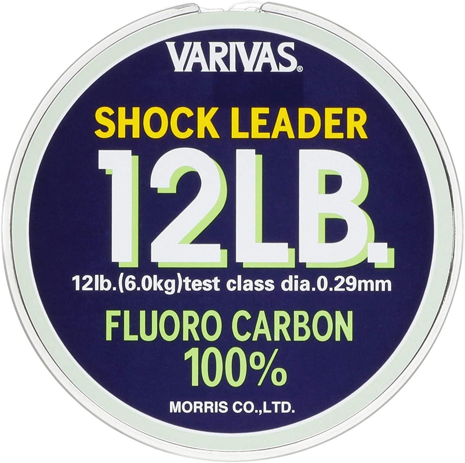 Varivas Fluorocarbon Shock Leader Line 30m 20lb 9777