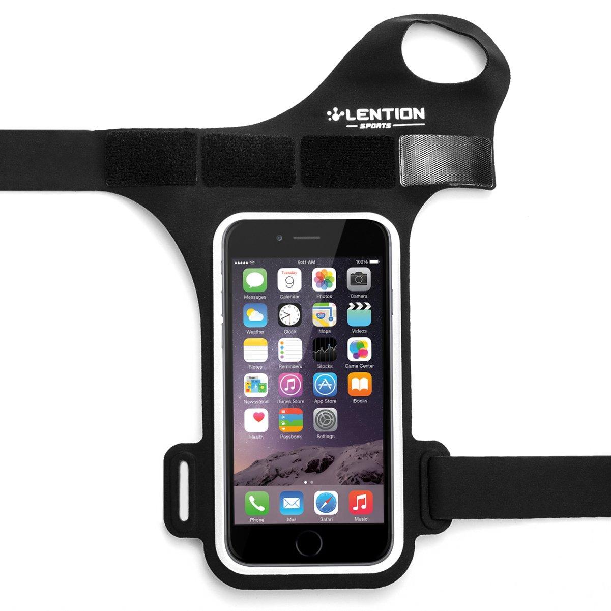 sport per iPhone//Samsung//Huawei//HTC//Xiaomi etc con Key ID Cash Supporto per ciclismo LENTION Fascia da Braccio Sportiva Banda Avambraccio con Touch Screen jogging Banda da polso 10,2-12,7 cm