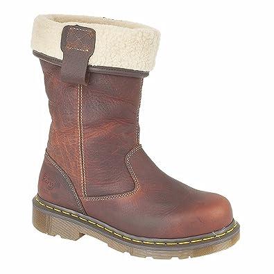 Dr Martens Serena Brown Brown, Schuhe, Stiefel & Boots, Stiefel, Braun, Female, 36