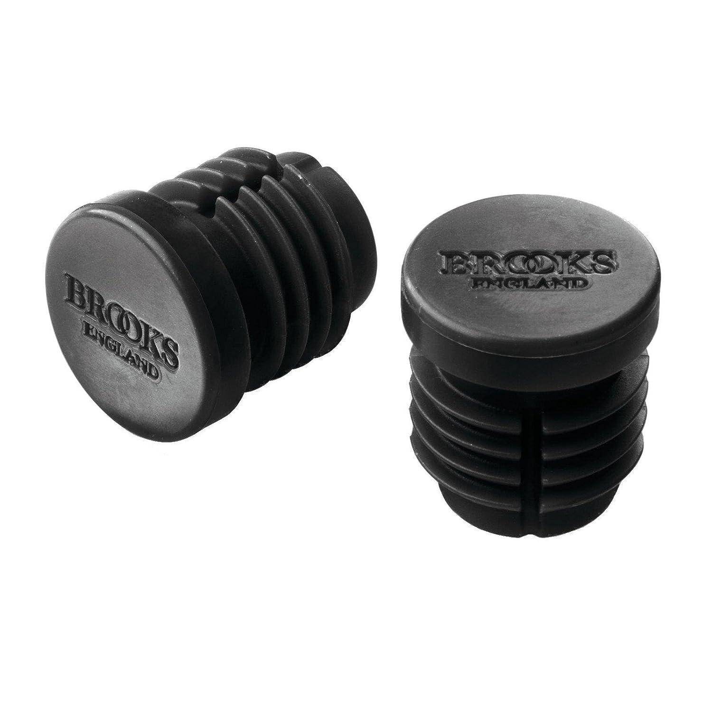 Brooks Rubber Bar End Plugs - Black - BYB 372