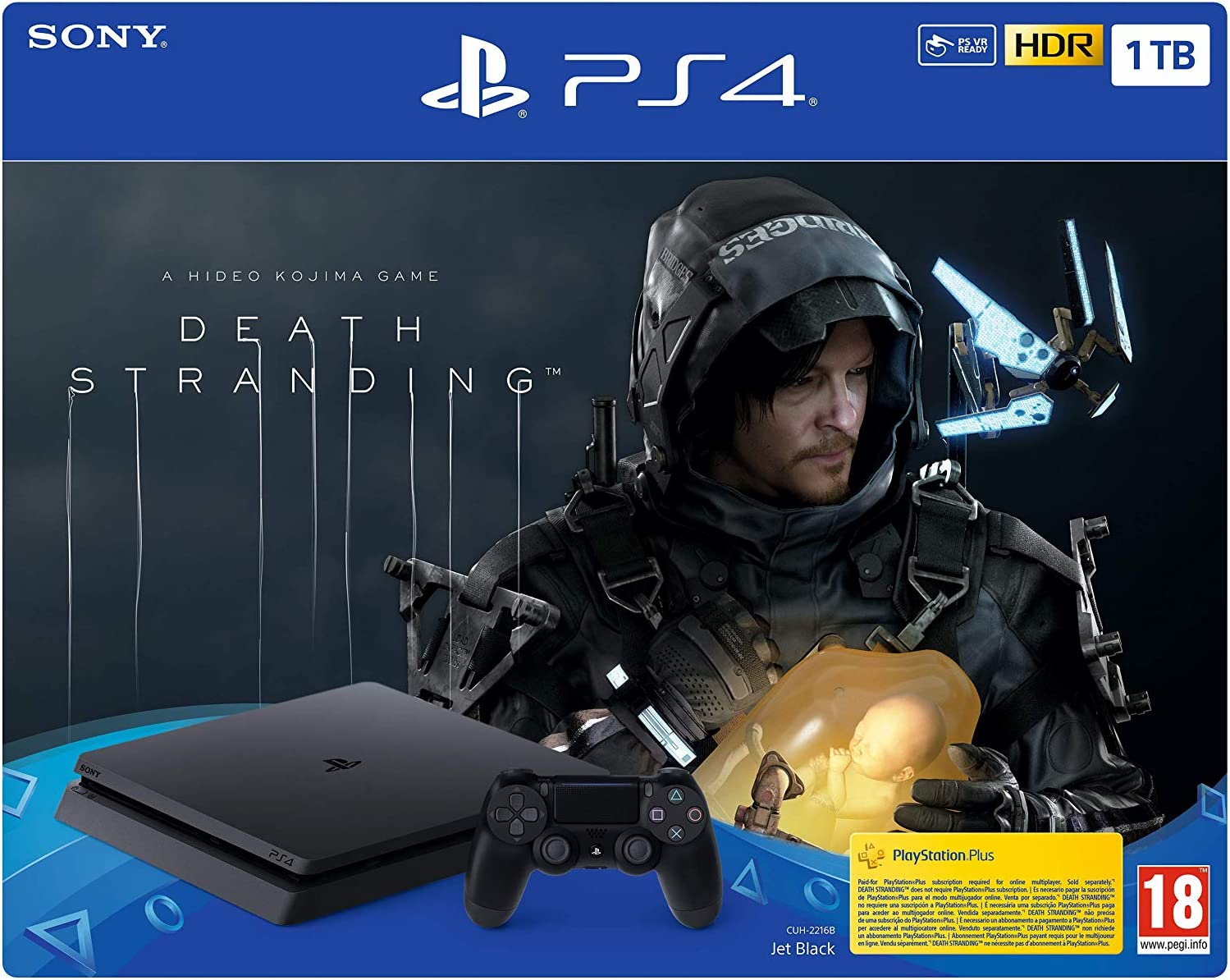 PlayStation 4 Consola de 1 TB + Death Stranding (PS4): Sony: Amazon.es: Videojuegos