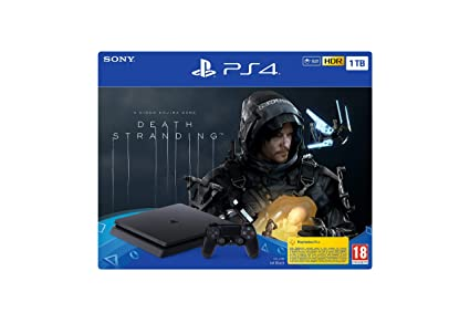 PlayStation 4 Consola de 1 TB + Death Stranding (PS4): Sony ...