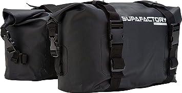 Supafactory 20L bolsa de sillín impermeable Impervius para motocicletas y motos