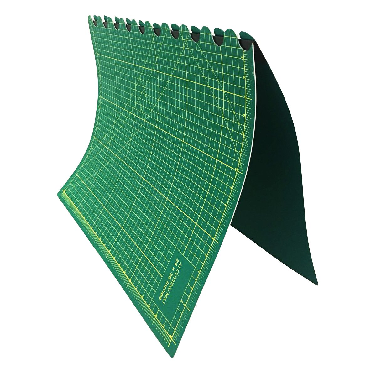 Fineway High Quality Folding A1 Cutting Mat Size Non Slip Self Healing Printed Grid Craft Design Foldable Fineway.