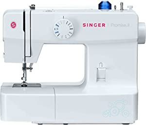 Singer 1512 Promise II Sewing Machine with 13 Built-in Stitches Including Automatic 4-Step Buttonhole and Automatic Presser Foot Pressure