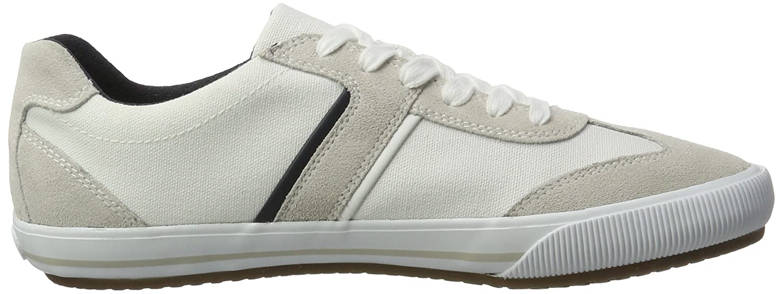 Geox U Dart R, Sneakers Basses Homme, Blanc (White/papyrusc1z1s), 44 EU