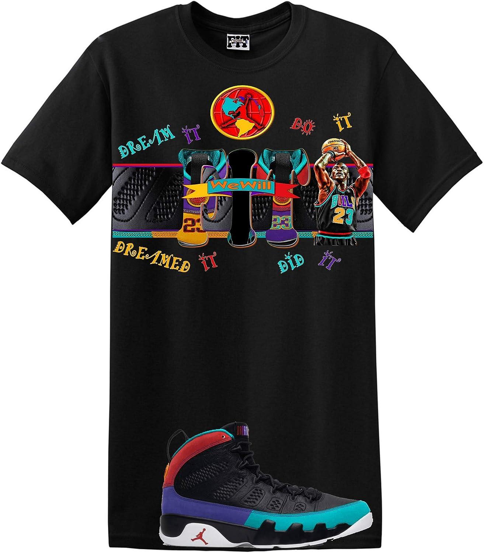 We Will Fit Martin Cast Shirt for The Jordan 9 IX Dream it Do It Flight Nostalgia