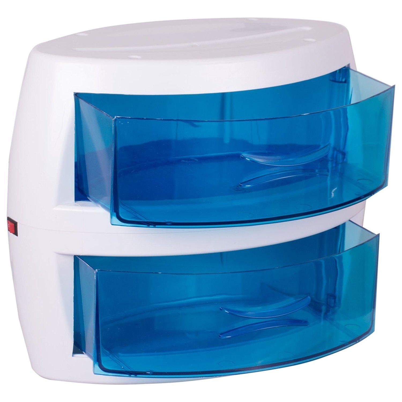 Crisnails Sterilizzatore UV professionale cod bactericida per parrucchiere Manicure 2vassoi parrucchiere salone bellezza Crisnails®