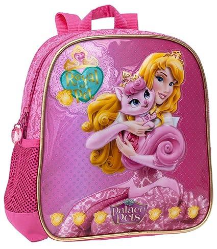 Disney Mochila Escolar Aurora, 25 cm, Rosa