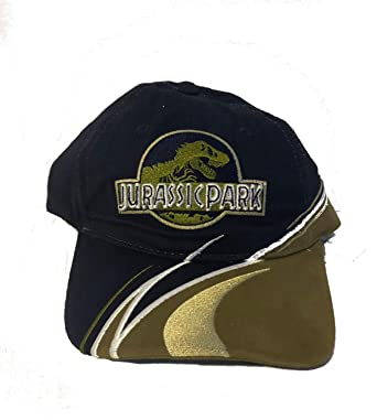 60acc7f52 Amazon.com: Universal Studios Exclusive Jurassic Park Multi Tone Baseball  Cap: Clothing