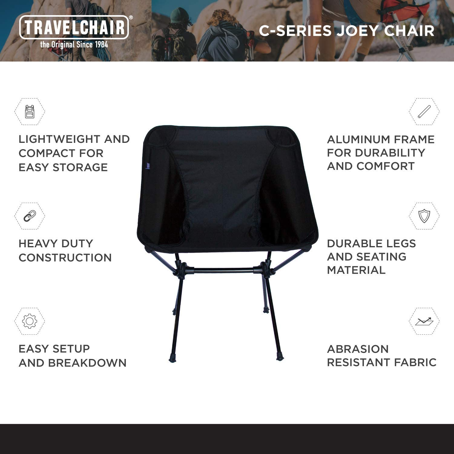 Super Compact Storage Travelchair Joey Chair Portable Camping Chair