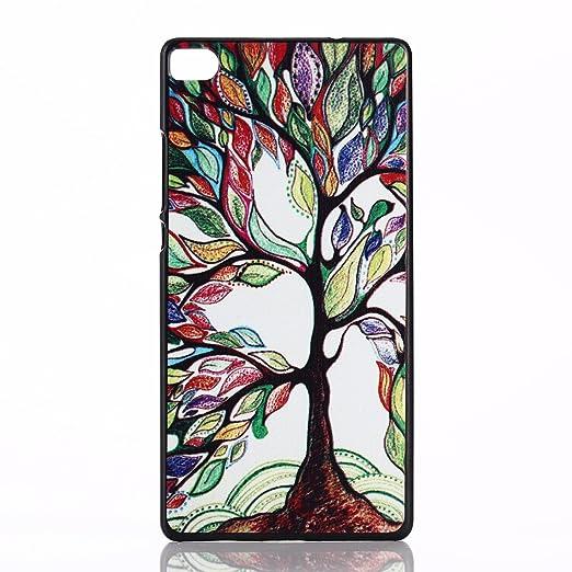 21 opinioni per Voguecase® Huawei P8 Cover / Case / Custodia Duro Rigida Ibrido (Grande albero