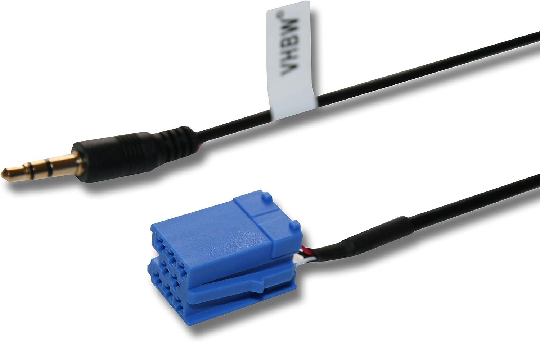 AUX Adapterkabel Kabel für Becker Blaupunkt Philips VDO DAYTON