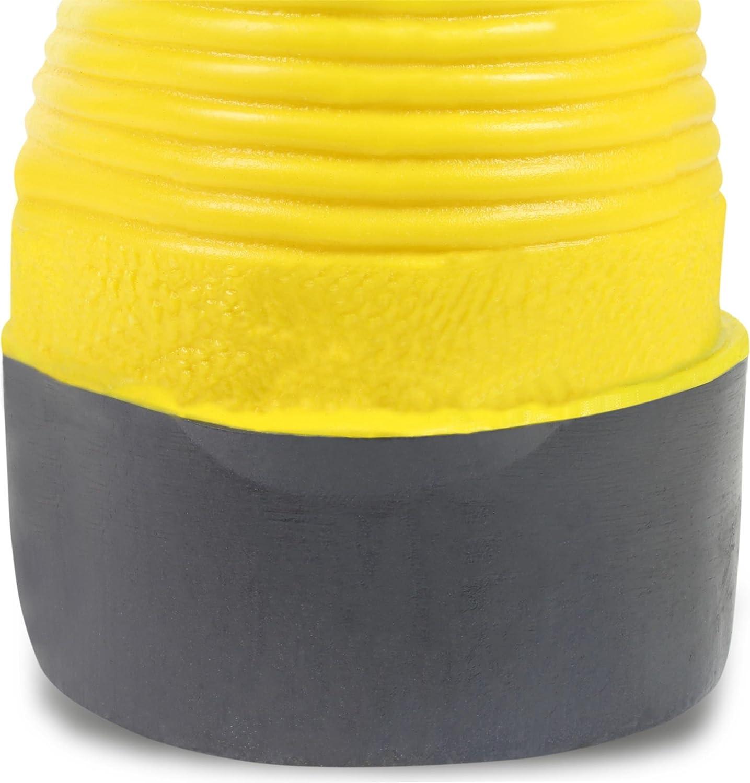 Baustiefel S5 Gummistiefel mit Zehenschutz, EN ISO 20345 Gelb Gr. 38-48 Größe 48