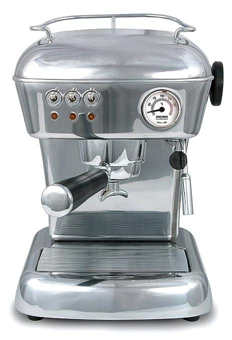 ascaso 600761 Cafetera expreso Dream, aluminio pulido: Amazon.es ...