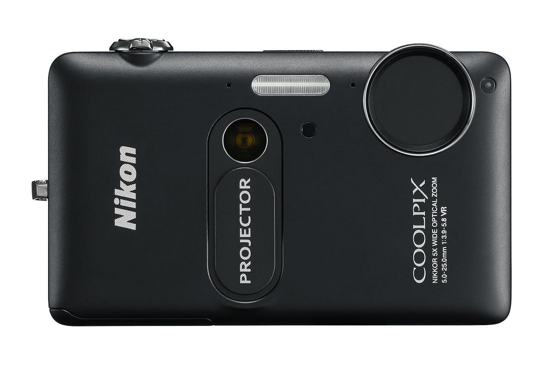 Nikon Coolpix S1200pj - Cámara compacta de 14 MP (Pantalla de 3 ...