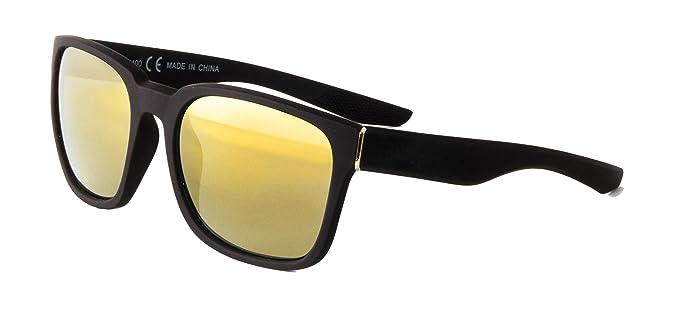 b6b9f2f92944 DM Merchandising Inc. Optimum Optical Unisex Square Sunglasses, Epic (Matte  Black)