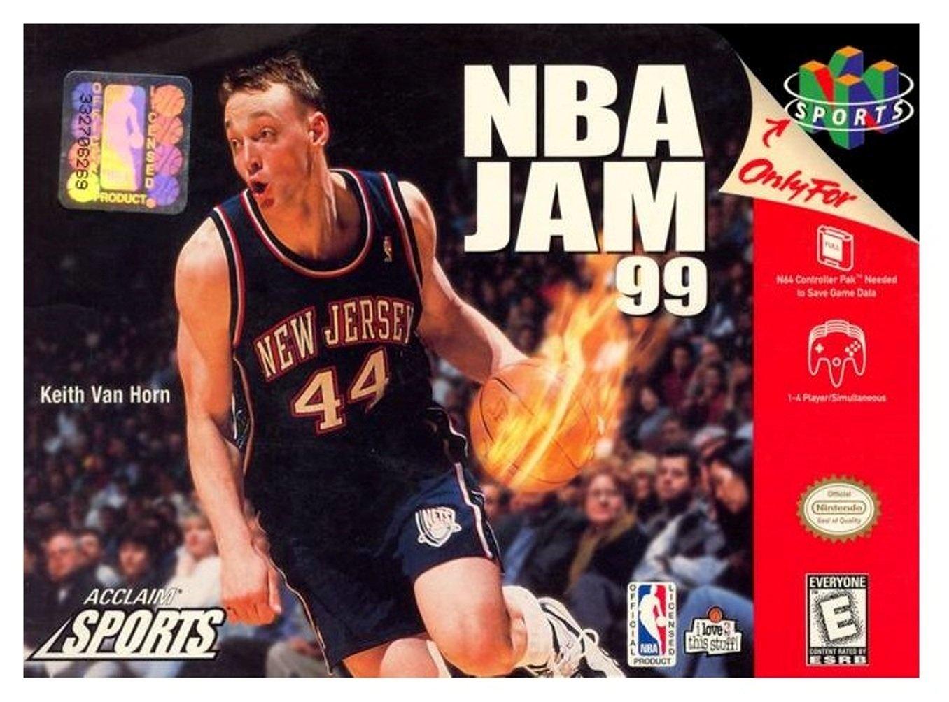 Amazon NBA Jam 99 Video Games