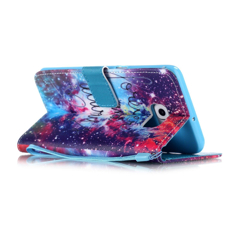 PU Cuir Flip-Case Smart Cuir Portefeuille Case Etui Lanyard Dragonne Coque Flip Cover // Wallet Cover // Protector Coquille // Stand et les fentes de carte de cr/édi Anlike Etui Housse pour Samsung Galaxy Note 5 //SM-N9200 Coque Galaxy Note 5 5,7 Zoll