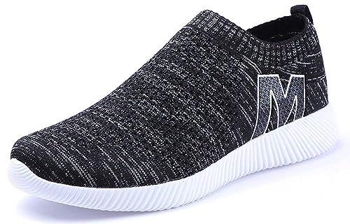 Zapatos Zapatillas Running Hombres Mujer Zapatos para Correr Sneakers Fitness Aire Libre y Transpirables Casual Zapatos Gimnasio Correr Sneakers: Amazon.es: ...
