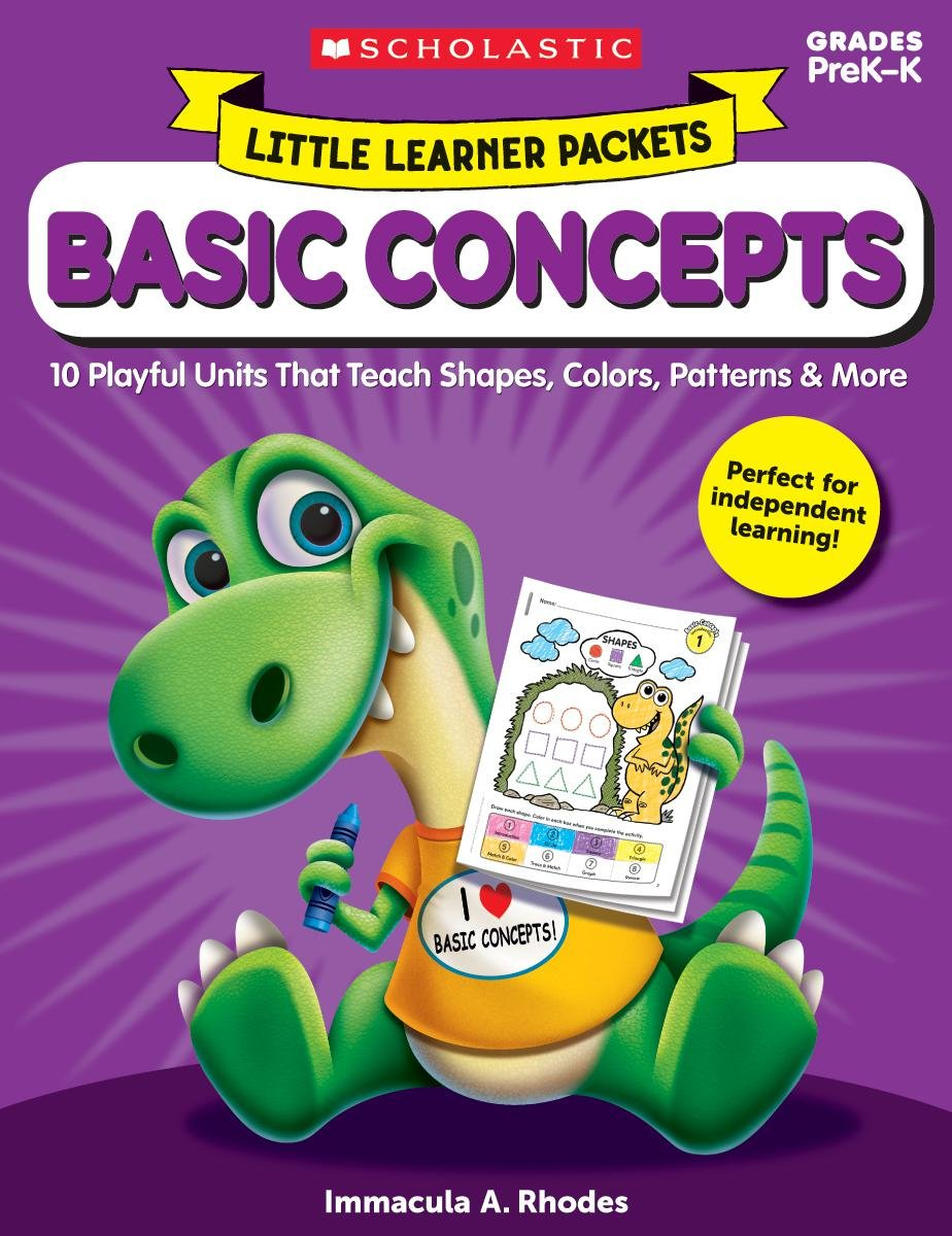 Download Little Learner Packets: Basic Concepts: 10 Playful Units That Teach Shapes, Colors, Patterns & More ebook