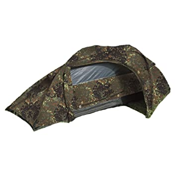 Mil-tec One Man Flecktarn Recon Tent by Mil-Tec  sc 1 st  Amazon.com & Amazon.com : Mil-tec One Man Flecktarn Recon Tent by Mil-Tec ...