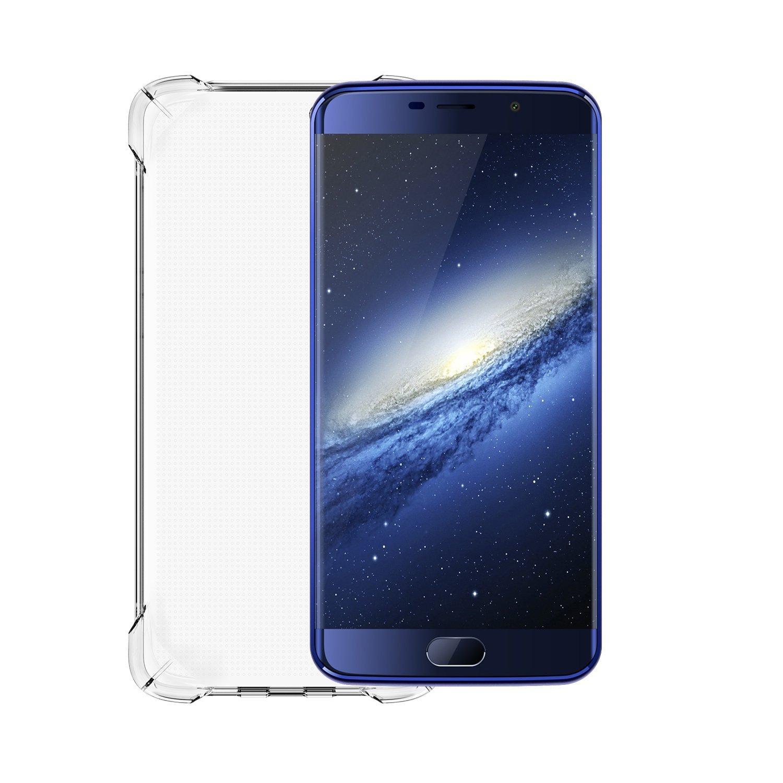 Elephone S7 TPU Case, Ultra-Delgado, Gel de Silicona Claro (Blanco)