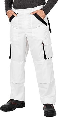 Pantalones De Trabajo Para Hombre Made In Eu Refuerzo Y Acolchado En Las Rodillas Pantalones Cargo Amazon Es Ropa Y Accesorios