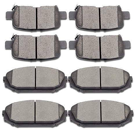 SCITOO Ceramic Disc Brake Pads Set For Acura MDX Honda Odyssey Honda Pilot