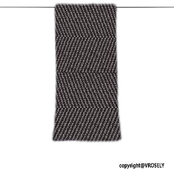 VROSELV Custom Toalla Suave y cómodo Playa Towel-Wool Tweed Tela Textura Abstracta sin Fisuras