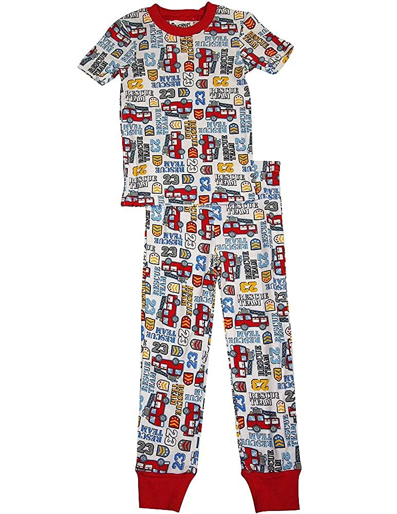 Pajohnies Little Boys Short Sleeve Pajamas