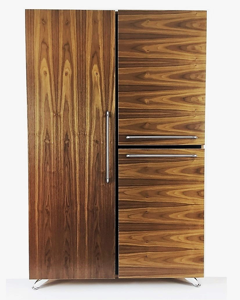 Modern by Diamante West Federal Armoire (Natural Walnut) by Modern by Diamante