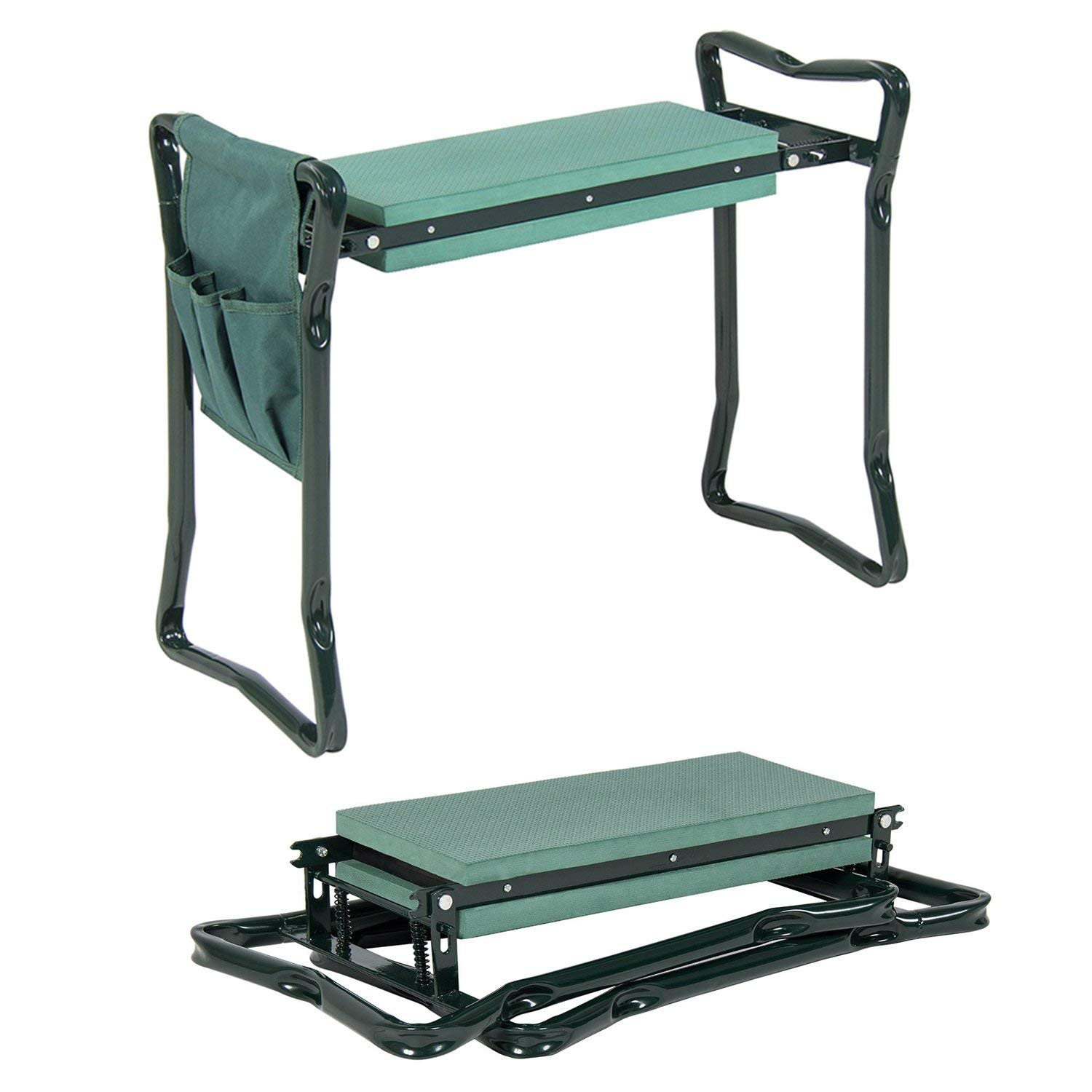 TREE.NB Garden Kneeler and Seat with Tool Pouches by TREE.NB