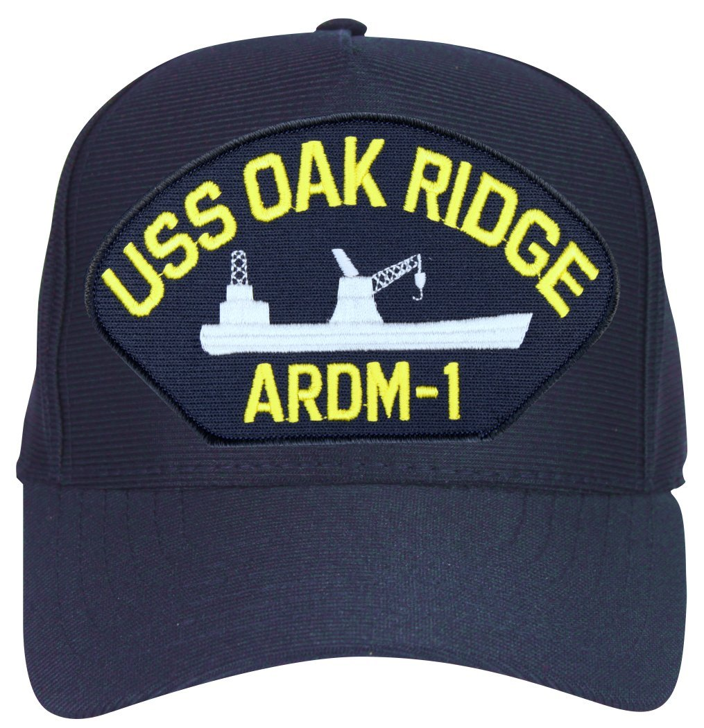 Amazon.com  MilitaryBest USS Oakridge ARDM-1 Ship Cap with Custom Back Text   Sports   Outdoors 0509f2888234