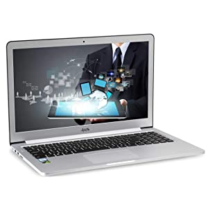 "AGB Octev G-0812 15.6"" Laptop ( 7th Generation Intel Core i7-7500U /16GB RAM / 1TB SSD & 1TB HDD / NVIDIA GTX 950 2 GB DDR5 / Win 10 Pro / Aluminium Body"