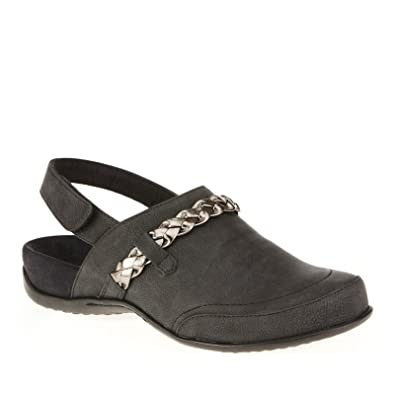 27ff67b99ef9 VIONIC with Orthaheel Technology Women s Kerstin Mule Black Clog Mule ...