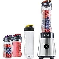 AEG Standmixer Smoothie Mini Mixer mit Power-Motor & extra Tritanflasche und hochwertigen Edelstahlmessern