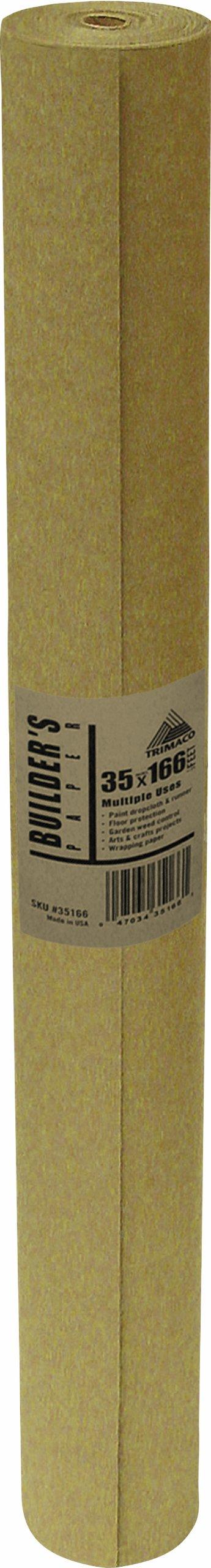 Trimaco Llc BF36 35-Inch by 166-Feet Flooring Paper, Brown