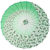 GODHL Bambú chino Oriental paraguas sombrilla danza clásica