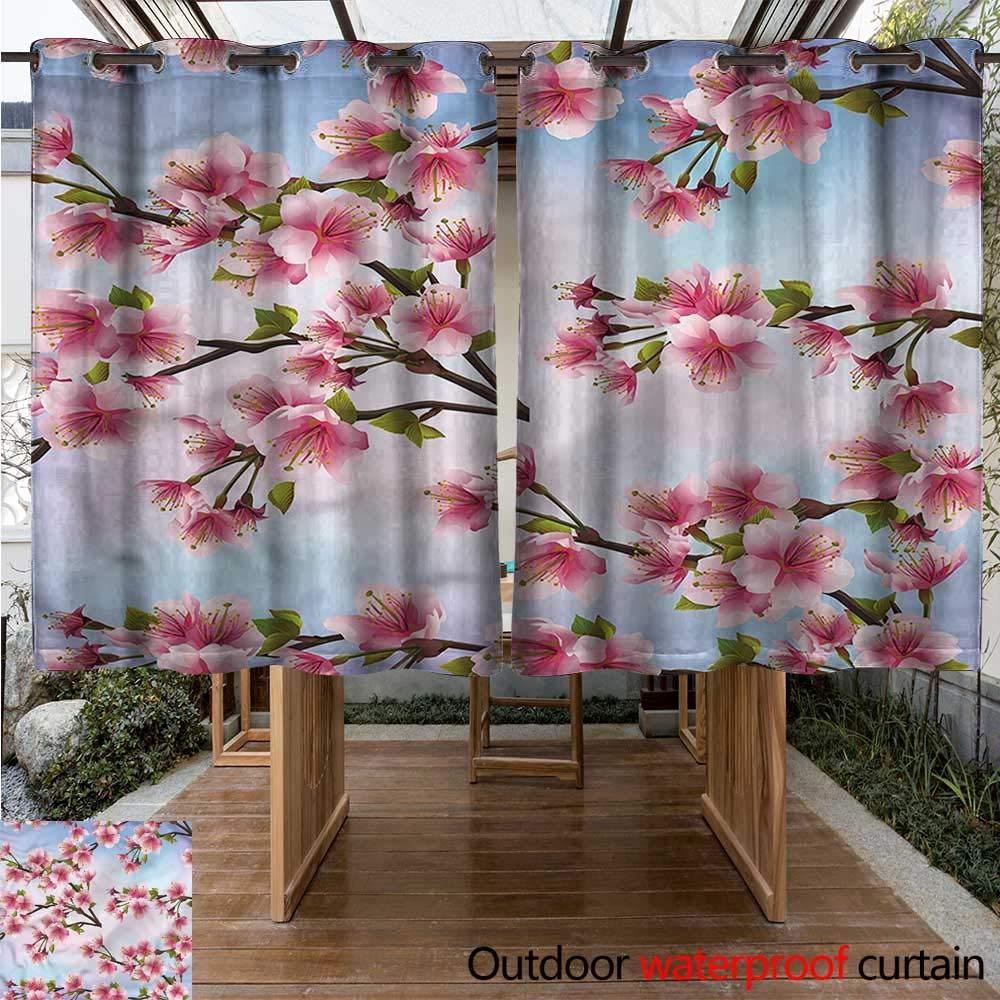 Cortina Japonesa para el hogar, Patio, Exteriores, romántica ...