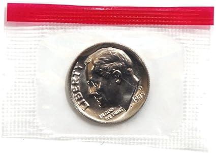 1980 P//D Roosevelt Dime SET IN MINT CELLO