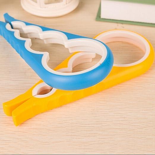 Tornillo Cap - Llave de tarro 4 en 1 creativa multifunción con forma de gourd para abridor de latas herramienta de cocina: Amazon.es: Hogar