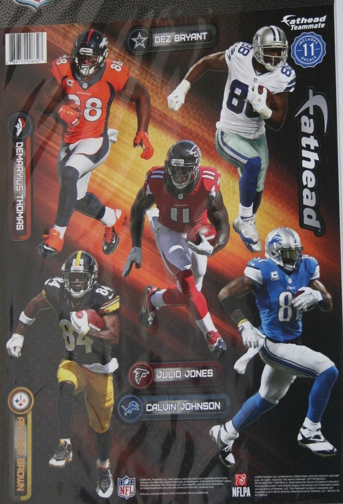 FATHEAD 2015 NFL Wide Receivers 9 Player